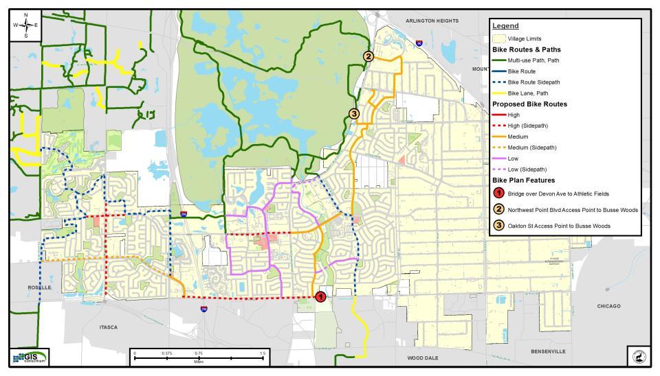 Maps Elk Grove Village