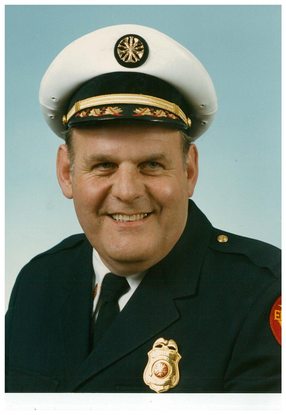 Retired Fire Chief Charles Henrici