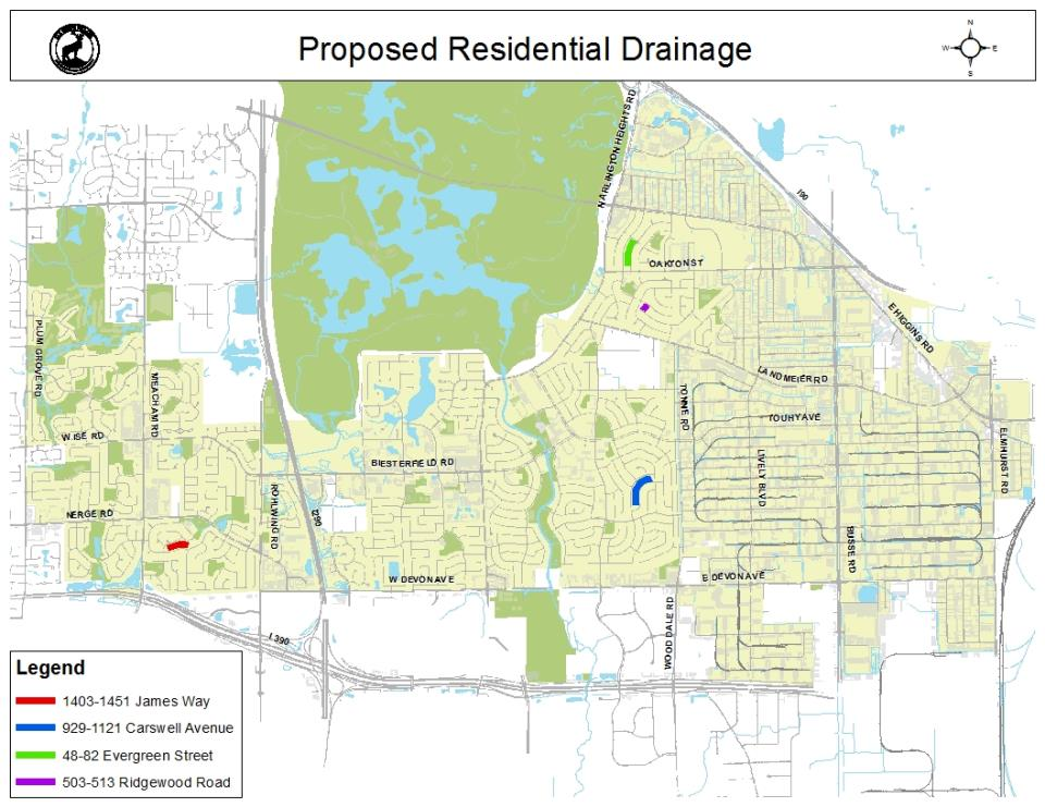Proposed Residential Drainage