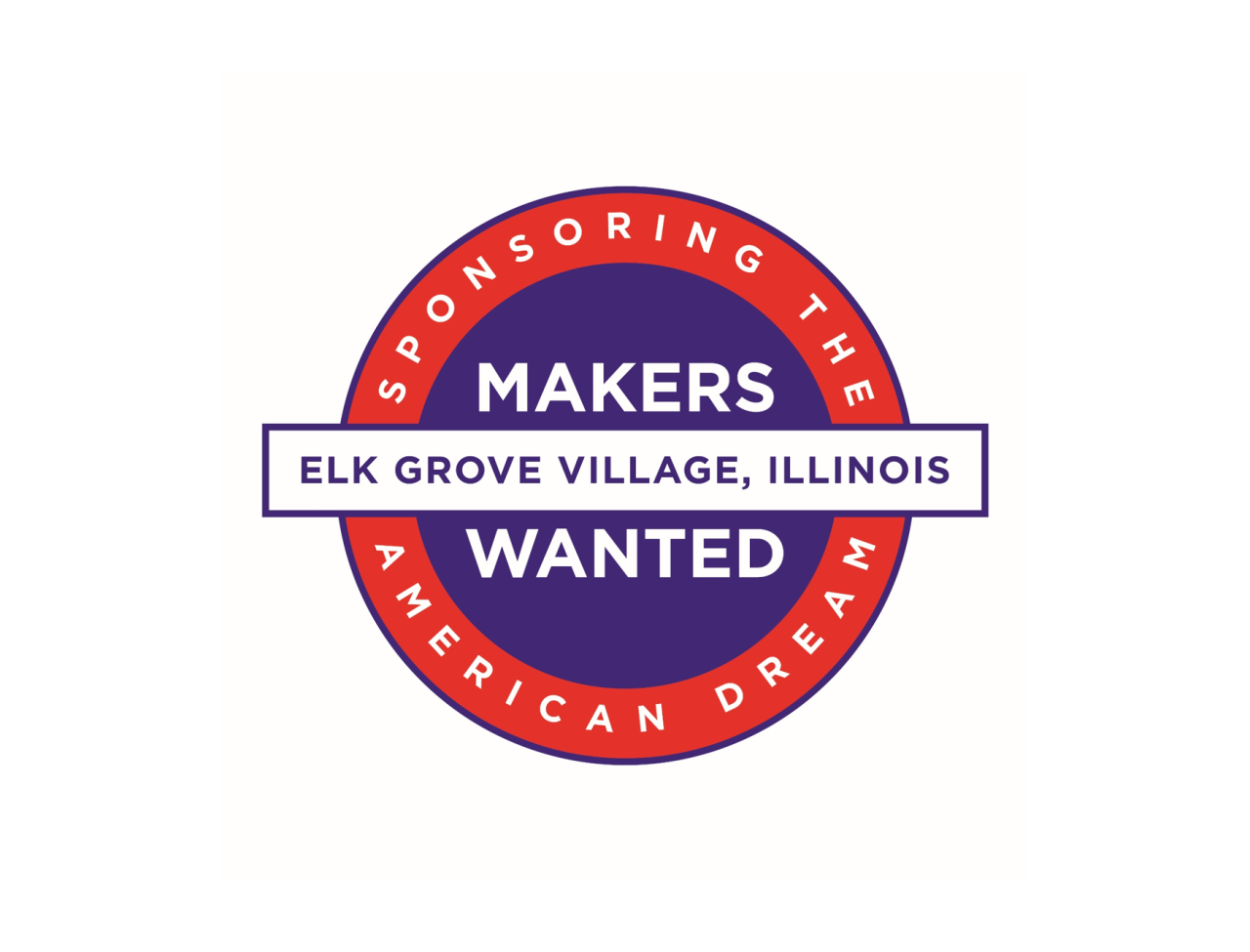 Logo: Makers Wanted, Elk Grove Village, IL, Sponsoring American Dreams